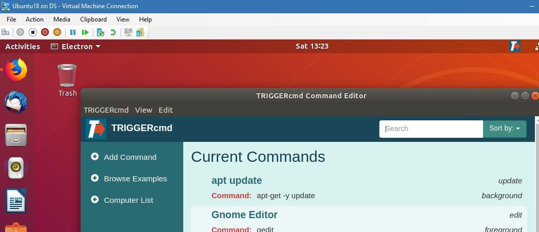 Ubuntu 18 Workaround