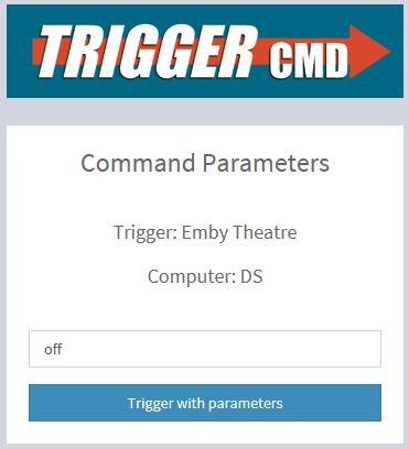 TRIGGERcmd Parameters