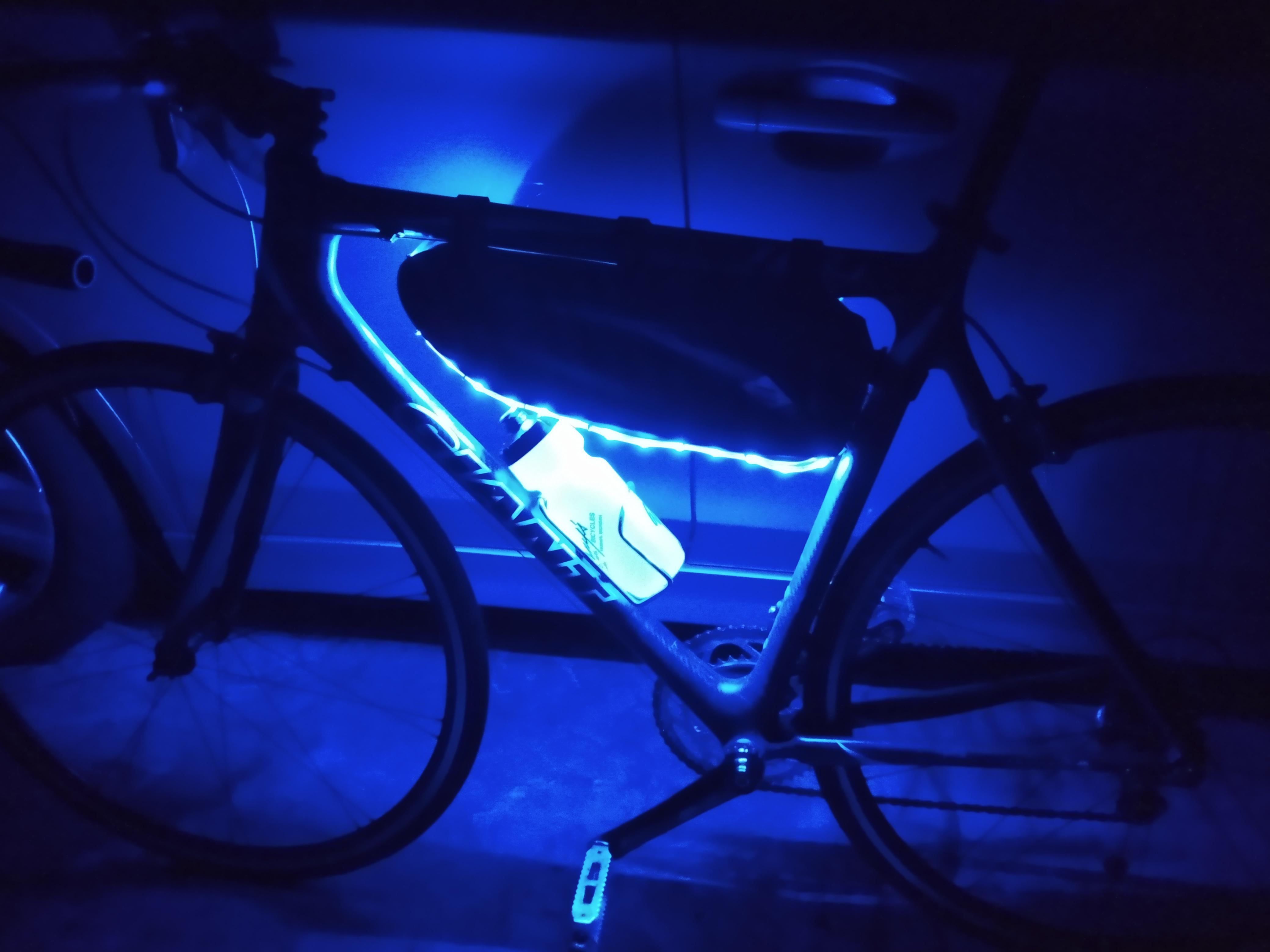 raspberry pi bike lights
